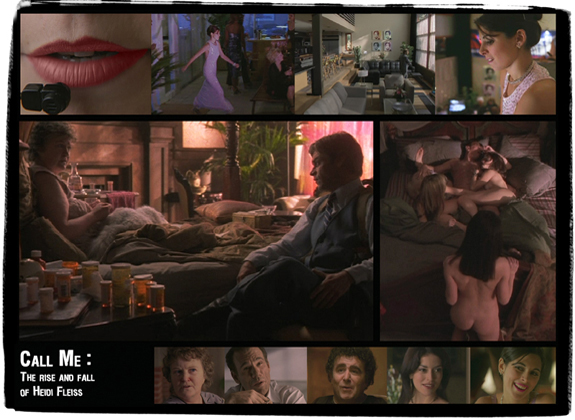 Call Me: The Rise And Fall Of Heidi Fleiss<br />  <em>TV Movie (shot in Calgary, Los Angeles) for USA Network</em>